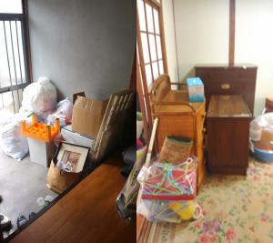沖野上町で2t車積み放題回収の写真1