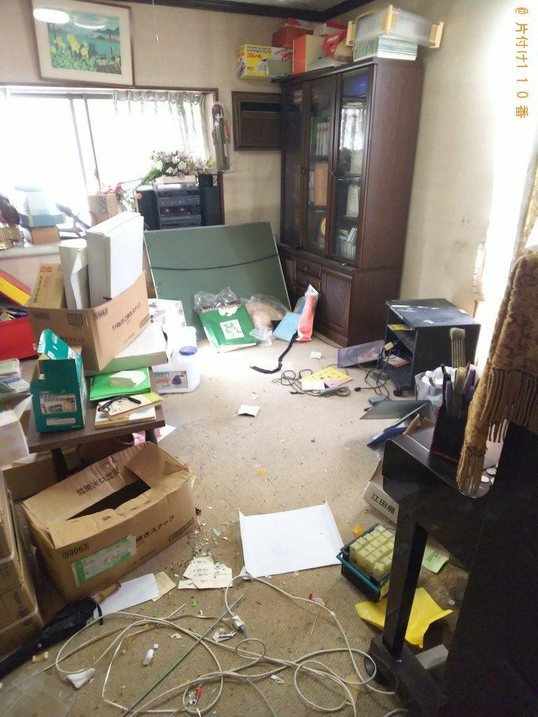 【福山市神村町】自宅と倉庫内にある不用品処分ご依頼 お客様の声