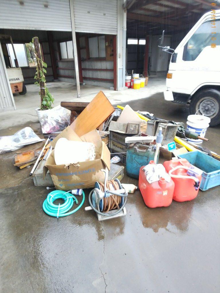 【福山市神辺町】軽トラック1台程度の不用品回収ご依頼 お客様の声