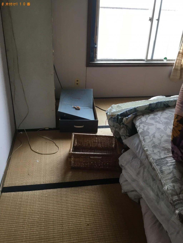 【福山市】エアコン、タンス、布団等の回収・処分ご依頼 お客様の声