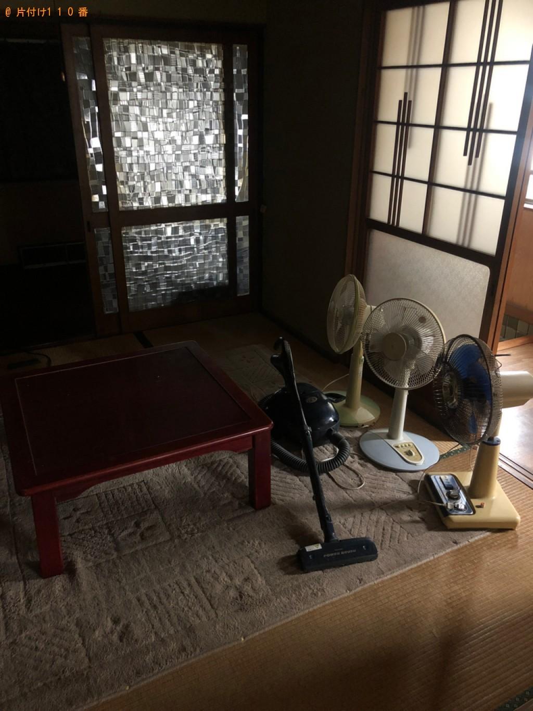 【福山市】こたつ、タンス、二人用ダイニングテーブル等の回収・処分