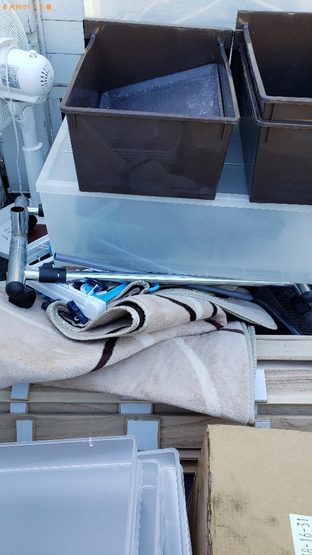 【福山市】衣装ケース、木製パレット、ローテーブル等の回収・処分