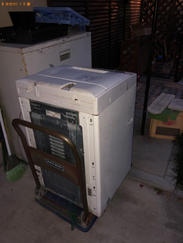 【福山市】洗濯機の回収・処分ご依頼 お客様の声