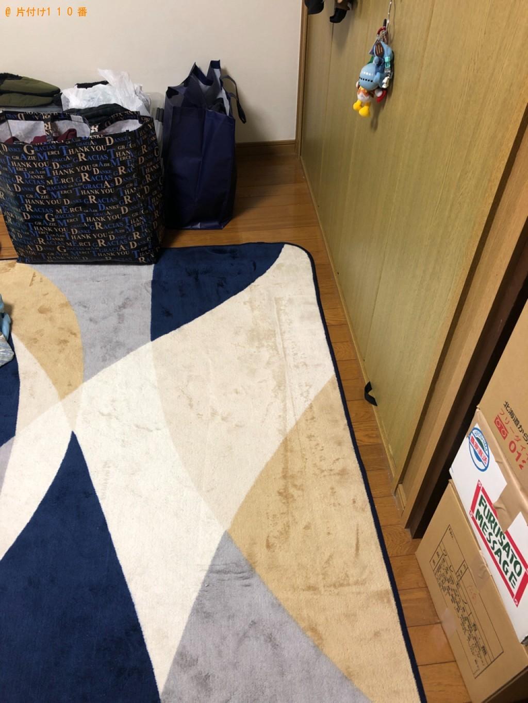 【福山市】脚付きシングルベッドマットレスの回収・処分ご依頼