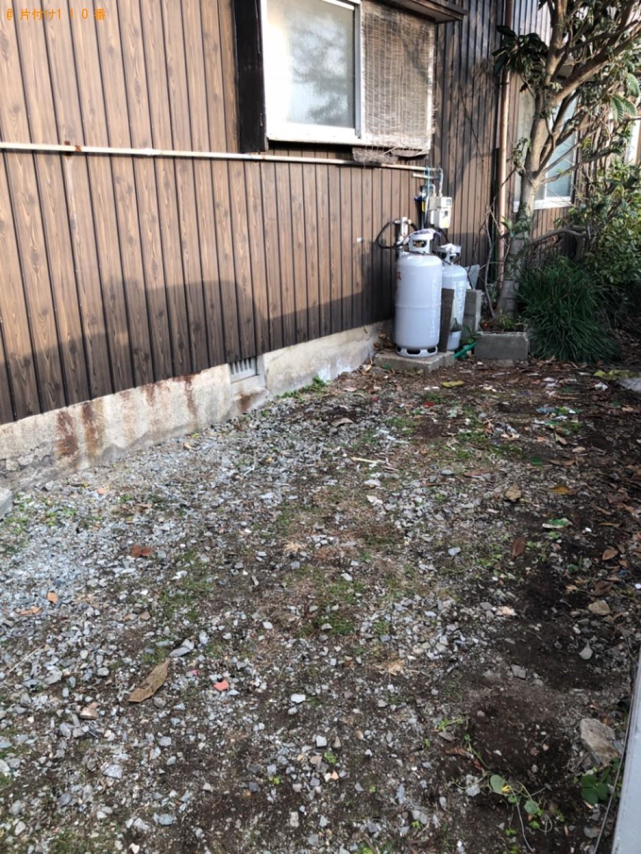 【福山市】六人用ダイニングテーブル、壷、カゴ、プランター等の回収