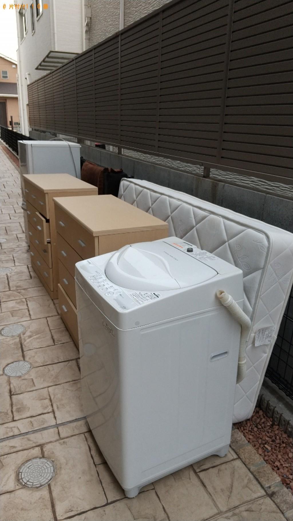 【福山市新涯町】冷蔵庫、洗濯機、こたつ、タンス等の回収・処分