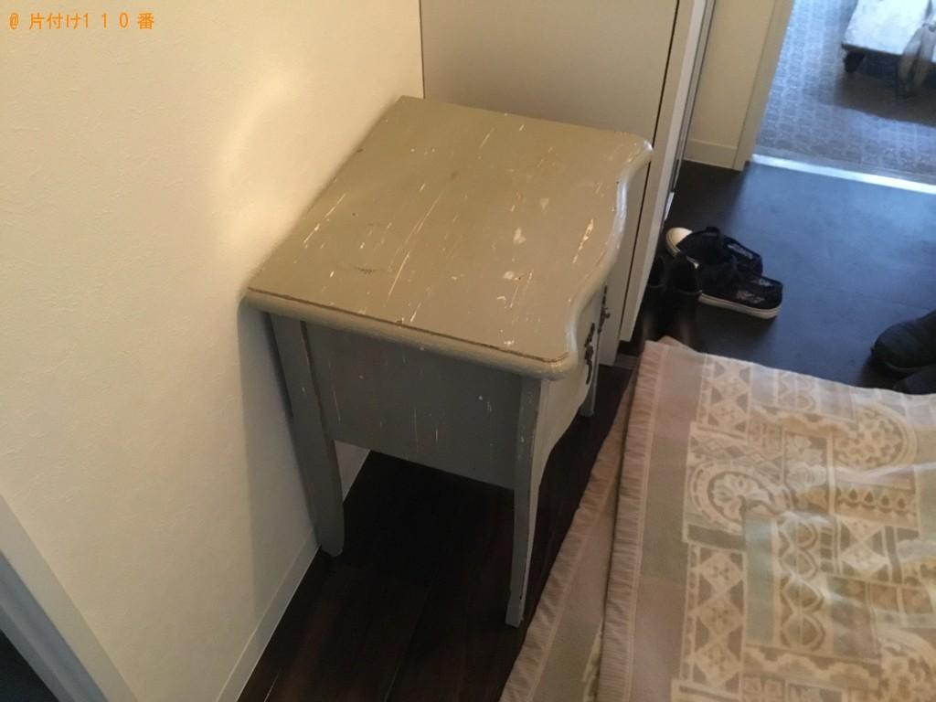 【福山市】本棚、衣装ケース、テーブル等の回収・処分ご依頼
