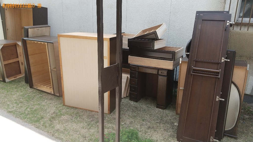【福山市田尻町】タンス、鏡台、クローゼットの回収・処分ご依頼